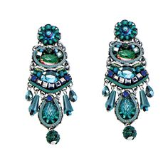 Ayala Bar Emerald Cove Post Earrings