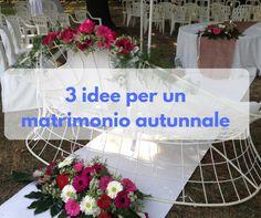 3 idee per un matrimonio autunnale