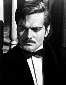 Omar Sharif - Zhivago - 1965. I saw him in an interview several years ago and he was much older, but what a sexy, intelligent and interesting man he was!!