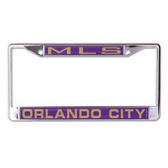 Orlando City SC License Plate Frame - Inlaid
