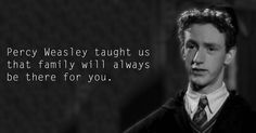 Percy Weasley - See the 30 Things That Harry Potter