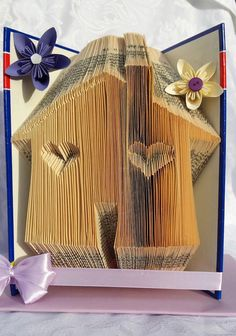 This pattern enables the folder to create the pattern pictured in to a book. Its not as complicated as it looks! the result is extremely