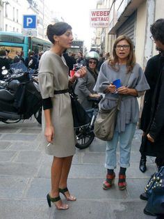 URBANE TIMES: Giovanna Battaglia. Great look