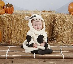 So stinkin' cute. The urge to squeal is getting stronger by the second. Landon's Halloween costume perhaps...?
