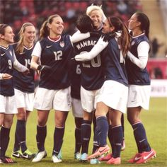 Abby Wambach scored her 155th goal in the friendly vs. Germany #chasingmia