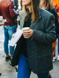 Wanted : une veste d'homme en tweed (blog Collage Vintage)