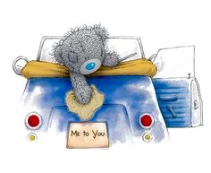 I like driving in my car. Teddy Bear Images, Teddy Pictures, Cute Pictures, Tatty Teddy, Fizzy Moon, Blue Nose Friends, Love Bear, Cute Teddy Bears, Bear Art
