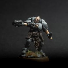 40k Armies, Rogue Traders, Space Wolves, War Hammer, Warhammer 40k Miniatures, Wolfhound, The Grim, Mini Paintings, Space Marine