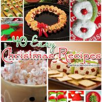 40 Easy Christmas Recipes - The Miracle Momma