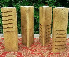 DIY Fifth Element Candle pillars.