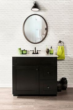Classic and clean, the Eldan Collection vanity is sure to become the focal point of any bathroom. With the ability to enhance any bathroom, this vanity offers style and functionality with two fully extendable drawers, a convenient interior adjustable shelves and ample cabinet space behind a sophisticated shaker style door. The graceful styling combined with the added elegance of a white vitreous china vanity top with an integrated rectangular sink makes this bath furniture collection a…