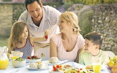 Photo about Family Eating An Al Fresco Meal. Gain Muscle Fast, Travel Brochure Template, Resistance Workout, Big Muscles, Calorie Counting, Food Festival, Nutritious Meals, Feel Good, Healthy Life