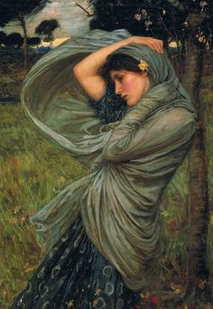 Boreas - 1903John William Waterhouse