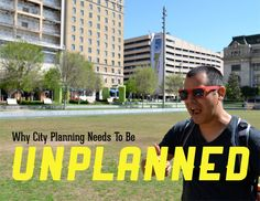 Why planning needs to be UNPLANNED. TEDx