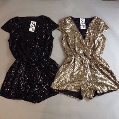 Would love to pull this off one day - sequin romper