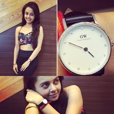 Hey ppl...Here is  @danielwellingtion for you all..Giving  you all a last chance to use the Code' DEVOLEENA and Win 15%discounts