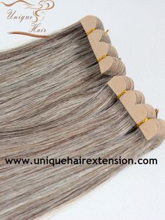 Mini Tape Hair Extensions Quick & Easy to give you longer and thicker hair in a flash, it is can applied in areas where other extensions cannot be applied, welcome to email us sales@uniquehairextension.com or add us Whatsapp: +8613553058361 for wholesale price!