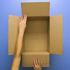 Think outside the box with these cardboard crafts. Diy Crafts For Home diy crafts for home decor videos Diy Crafts For Home Decor, Diy Crafts Hacks, Diy Crafts For Gifts, Diy Arts And Crafts, Diy Crafts Videos, Creative Crafts, Fun Crafts, Diy Videos, Videos Video