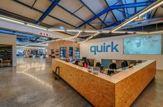 Inside Quirk's Cool Cape Town Office - Officelovin