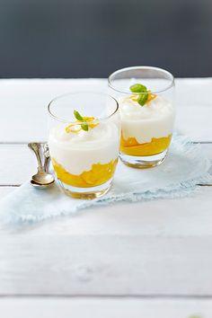 Aurinkoinen kookosvanukas | K-ruoka #sitrushedelmät #appelsiini