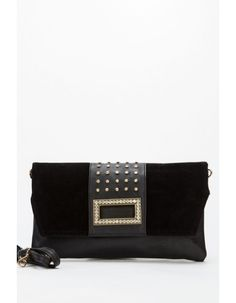 Encrusted Clutch Bag