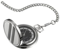 Visol Turbo Black Dial Carbon Fiber Pocket Watch -- You can find out more details at the link of the image.