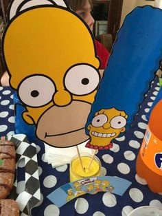 Simpsons Party Simpsons Party, 11th Birthday, Coops, Party Time, Projects To Try, Party Ideas, Teen, Animation, Events
