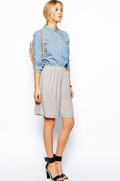 18 Pairs Of Shorts You Can Actually Wear To Work #refinery29  http://www.refinery29.com/womens-shorts#slide2