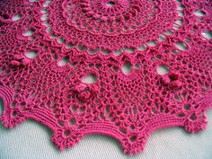 "Captivating and is from the book ""Doilies With Charm"" <3"