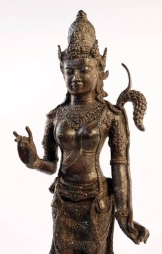 15th/16thc. Javanese Bronze Rice Goddess
