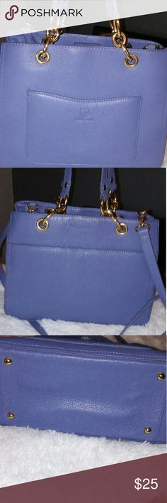 Giani Bernini Handbag 👜 Blue satchel handbag. Used it to go out just a few times. In beautiful condition. Bags Satchels