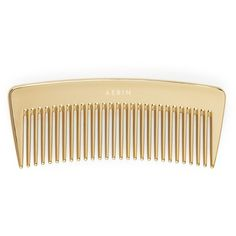 AERIN Travel Gold Comb ($32) ❤ liked on Polyvore featuring fillers, beauty, hair, accessories and hair accessories