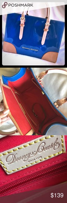 "DOONEY & BOURKE Satchel AUTHENTIC! Roomy & stylish Authentic Bag!! Beautiful color and Very roomy and chick. Dimensions are 12 3/4"" (L) 9 1/4"" (H) and 6 1/2"" (W). 1 inside zippered pocket plus 3 multi-purpose pockets and a phone/keys strap with a hook. Shoulder strap included. Leather handles. Reasonable offers considered but no lowballing please. Bundle 2+ items for additional discounts and to pay just one shipping charge. No trades Dooney & Bourke Bags Satchels"
