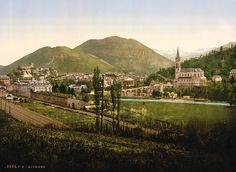 #1 on my bucket list. Lourdes, France