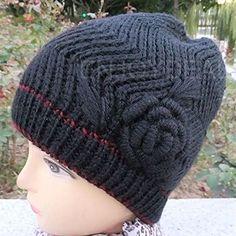 Enjoydeal New Women Ladies Winter Thick warmer Beanie Knit Crochet Hat Cap Button Ski