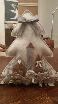 Albero di Natale di feltro