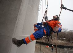 Star's Behind the Scenes: Rope Access Maintenance