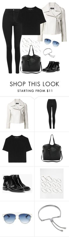 """""""Untitled #4124"""" by keliseblog ❤ liked on Polyvore featuring Yigal AzrouÃ«l, Topshop, Proenza Schouler, Linea Pelle, MANGO, ASOS, Christian Dior and Monica Vinader"""