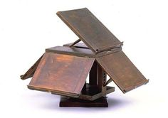 Thomas Jefferson's revolving book stand by PennStateWoodWork