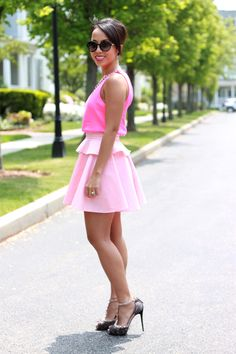 sassy in pink