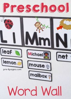 How to Use Word walls in Preschool and Kindergarten A word wall is an important part of a balanced literacy program in any early childhood classroom. Word walls can be used to display an organized …
