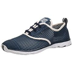 570cd8e618037c Men s Water Shoes Drying Aqua Breathable and durable air mesh Water Grip  and cushion outsole