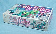 Silly Dillys Game, Milton Bradley, 1988