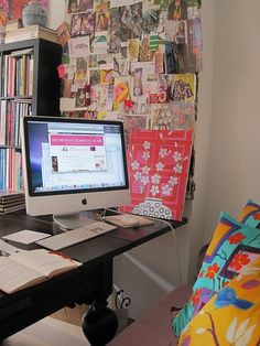 I want my Scrapbooking room to be full of things that represent me! Like cute pillows, decor, colors, etc.