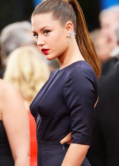 Adèle Exarchopoulos at the 71st Annual Golden Globes