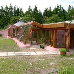 La maison recyclée ou l'Earthship : un concept écologique novateur