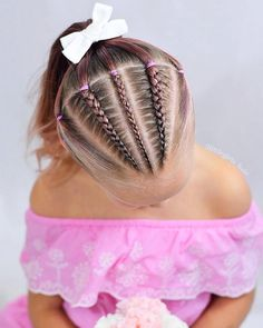 Little Girl Braid Hairstyles, Girls Hairdos, Cute Girls Hairstyles, Work Hairstyles, Princess Hairstyles, African Braids Hairstyles, Braided Hairstyles, Best Braid Styles, Long Hair Styles