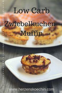 Low Carb Zwiebelkuchen-Muffins