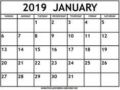 Cricut January 2019 Calendar 8x11 54 Best Printable stuff images in 2019 | Free Printables, Stickers