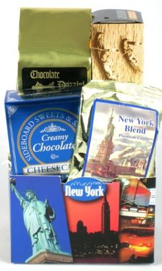 Worlds Greatest City New York City Theme Gourmet Gift Basket ** To view further for this item, visit the image link.